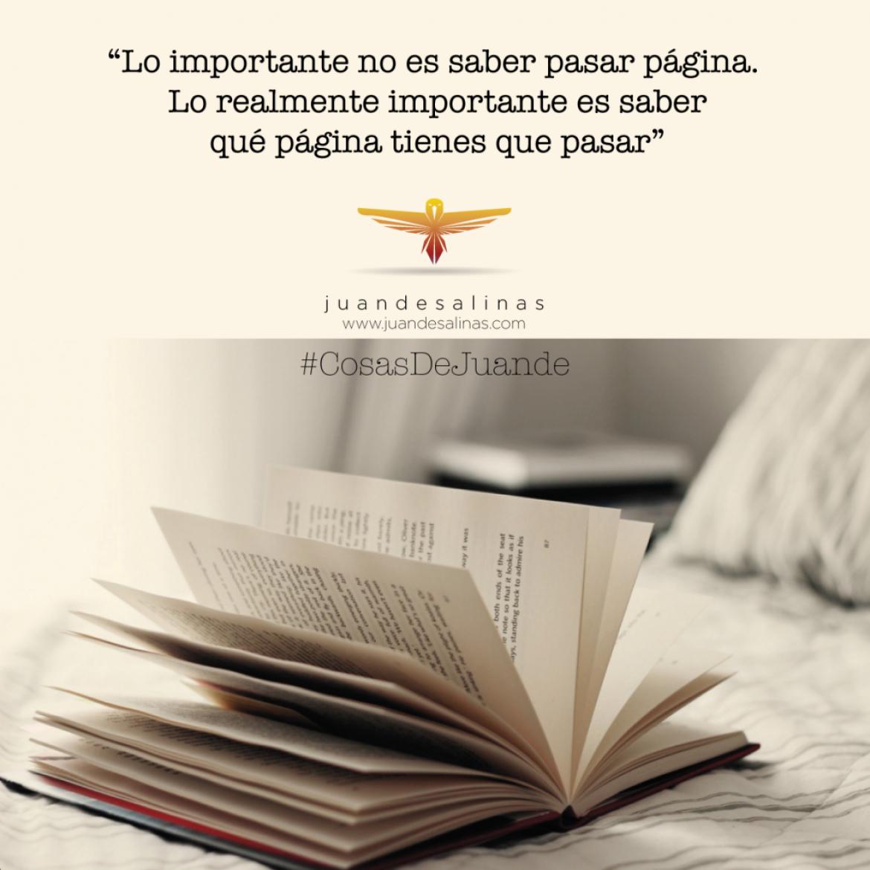 Pasar página